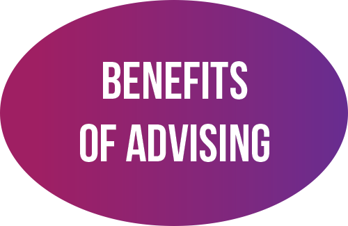 Benefits of advising